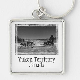 Yukon Quest Close-Up; Yukon Territory, Canada Keychain