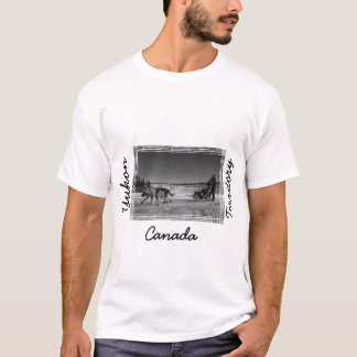 Yukon Quest Close-Up; Yukon Territory, Canada T-Shirt