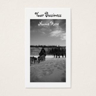 Yukon Quest Monochrome Business Card