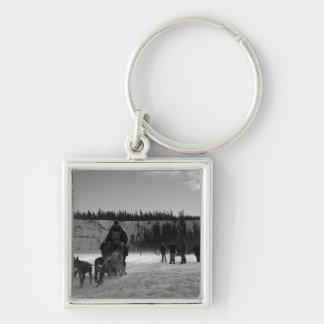 Yukon Quest Monochrome Keychain
