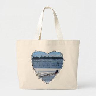 Yukon Quest Team Jumbo Tote Bag