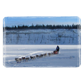 Yukon Quest Team Rectangular Photo Magnet