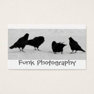 Yukon Ravens Business Card