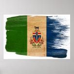 Yukon Territories Flag Posters