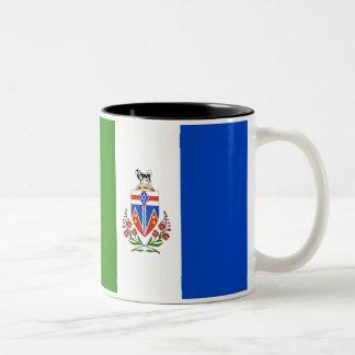 Yukon Territories Flag Two-Tone Coffee Mug