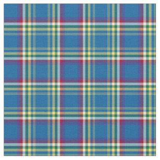 Yukon Territory Canada Tartan Fabric