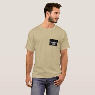 Yukon Whitehorse Food bank team tan tee shirt
