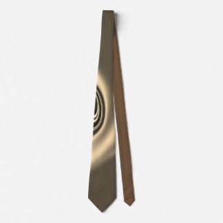Yukti- Golden Brown Neck Tie