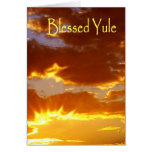 Yule, Blessed Yule Greeting Card