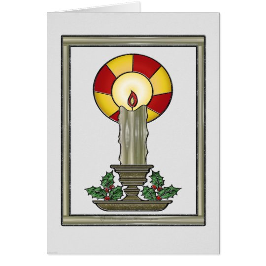 Yule Candle Card