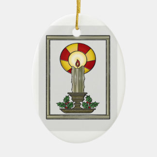 Yule Candle Ornaments