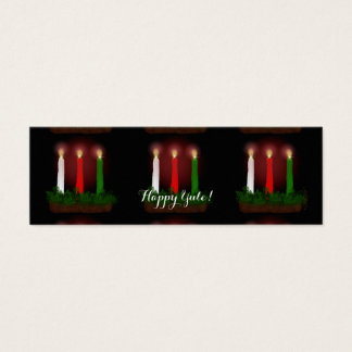 Yule Candles Winter Solstice Gift Labels Gift Tags