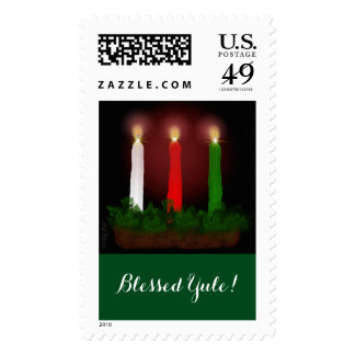 Yule Candles Winter Solstice Witch Wiccan Pagan Postage