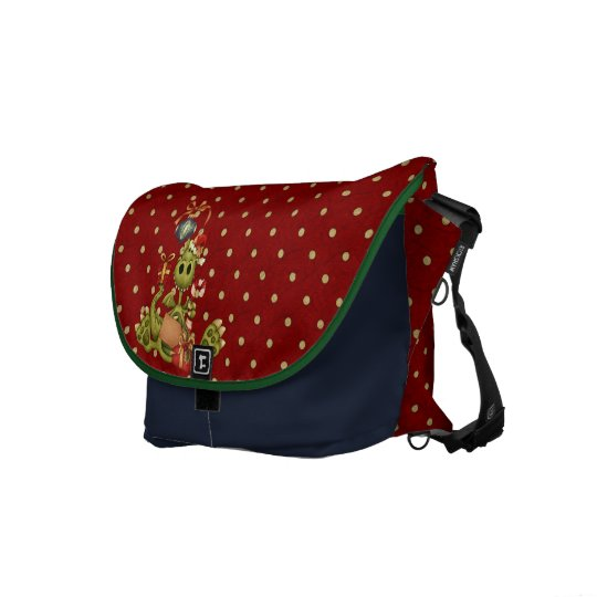 Yule Dragon Courier Bag