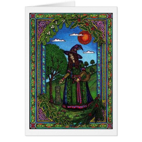 Yule, evergreen two card