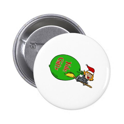 Yule Gifts 2 Inch Round Button
