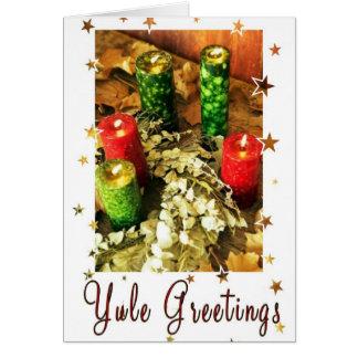 Yule Greetings Card