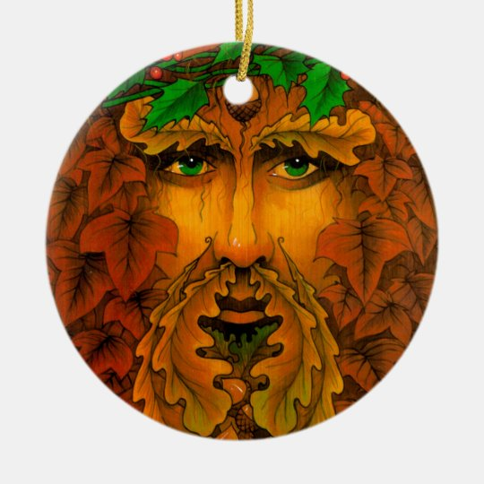 Yule King Ceramic Ornament