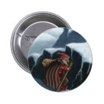 yule lad mountains 2 inch round button