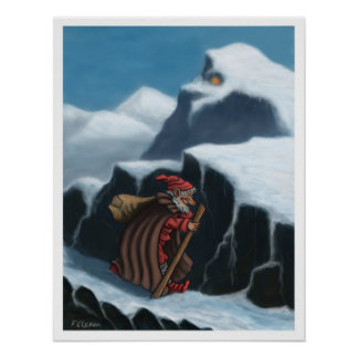 yule lad mountains poster