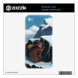 yule lad mountains skin for iPhone 4S