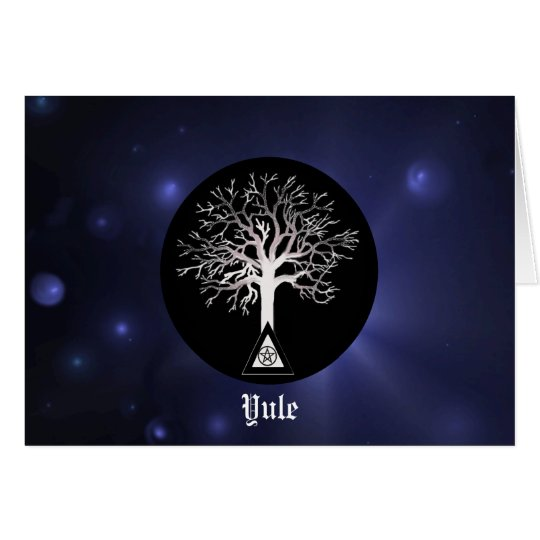 Yule-Let Light Shine On Yule Card