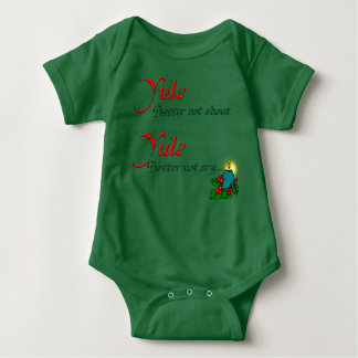 Yule/Odin Coming to Town Baby Bodysuit
