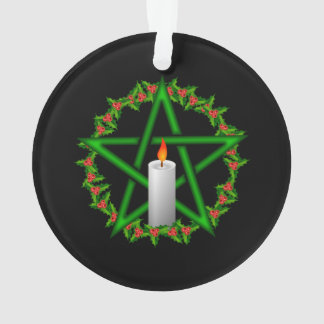 Yule Pentagram Ornament