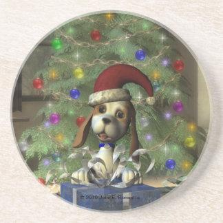 Yule Puppy Coaster
