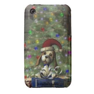 Yule Puppy IP3 Barely There Case iPhone 3 Case-Mate Case