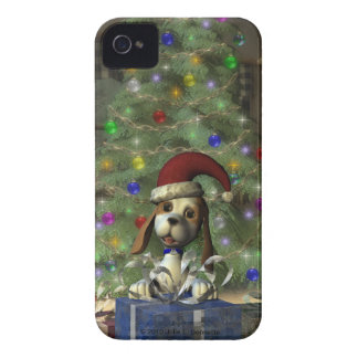 Yule Puppy IP4 Barely There Case