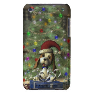 Yule Puppy iPod Touch Barely There Case Barely There iPod Case