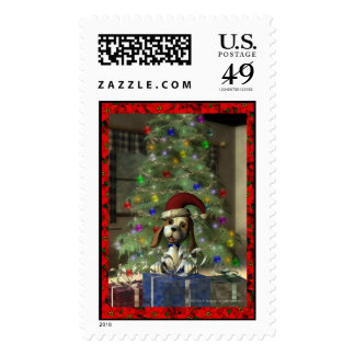 Yule Puppy Large Postage
