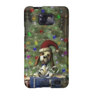 Yule Puppy Samsung Galaxy  S II Case Samsung Galaxy SII Case