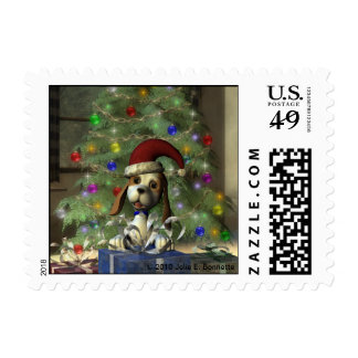 Yule Puppy Small Postage