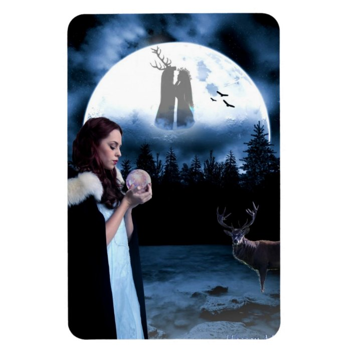Yule Rectangular Photo Magnet