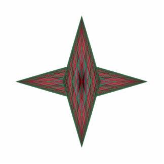 Yule Star Cutout
