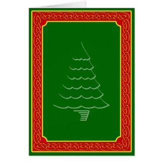 Yule Tree Greeting Card