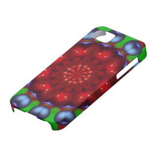 Yule Wheel Kaleidoscope Mandala iPhone 5 Case