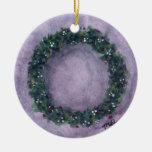 Yule Wreath Ornament by Mary Layton