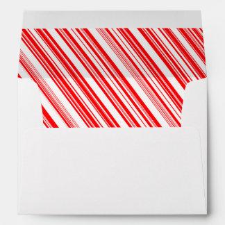 Yuletide Candy Cane Reigns Supreme Envelope