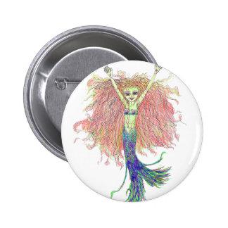 Yuletide Child Fairy Pin