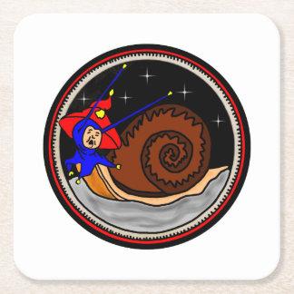 Yuletide Faerie Snail Coaster