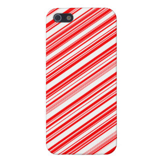 Yuletide Festive Candy Cane Case For iPhone SE/5/5s