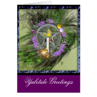 Yuletide Greetings Greeting Cards