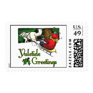 Yuletide Greetings Stamp