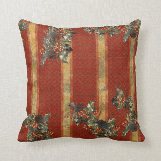 Yuletide Holly Pillows
