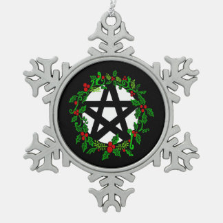 Yuletide Pentacle Ornament