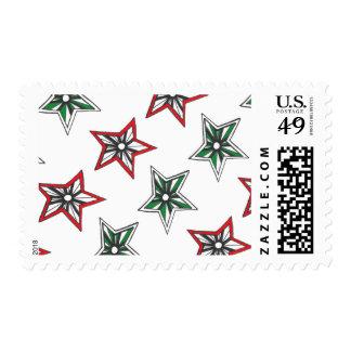 Yuletide Star Stamps
