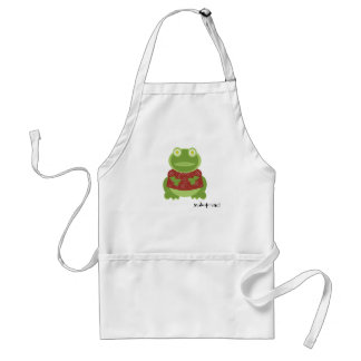 yuletoad in the kitchen adult apron